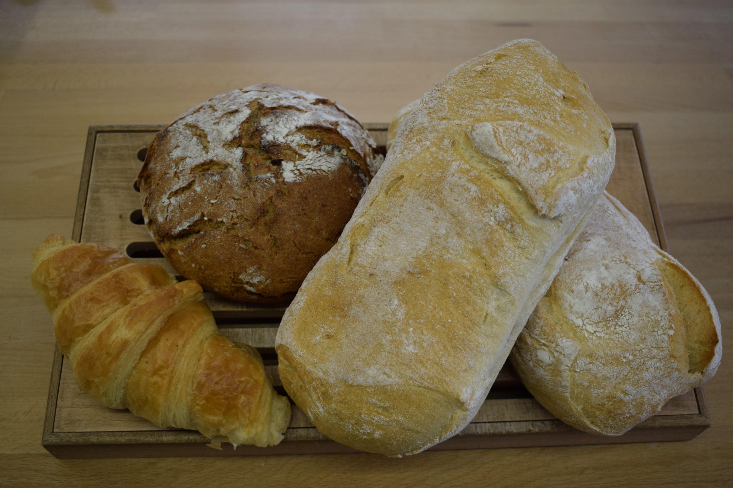 Bio Brote und Gebäck